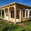 Bespoke 8m x 6m pent roof cabin, Cornwall