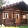 Traditional Round-Log Cabin, Bude, Cornwall