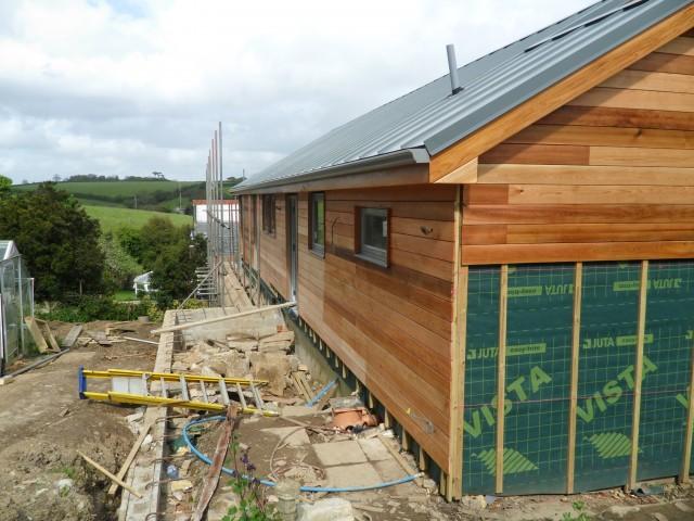 House Extension Feock Cornwall North Coast Log Cabins