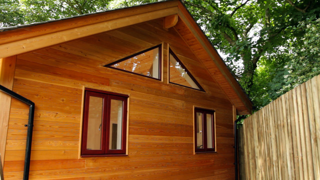 Two bedroom timber frame build near st agnes cornwall for 2 bedroom cabins to build