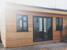 Cedar clad workshop