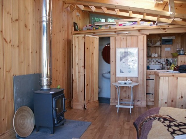 Lean To Studio North Coast Log Cabins Cornwall Amp Devon