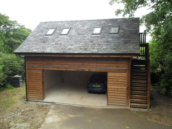 Garage with studio, St Teath, Cornwall