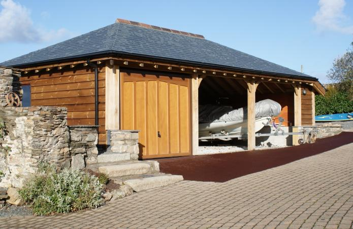 Bespoke 3 Bay Garage, near Wadebridge, Cornwall