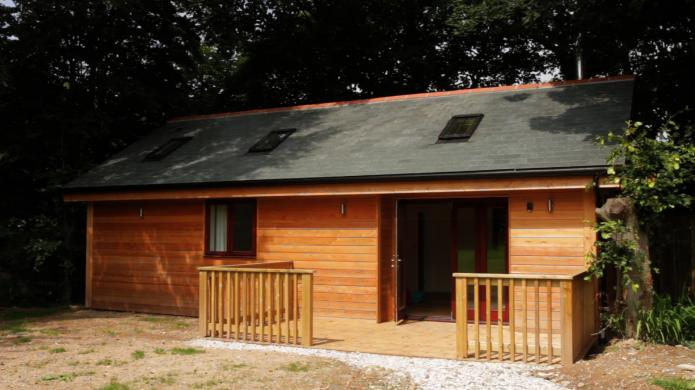 Two bedroom, timber frame build near St Agnes, Cornwall