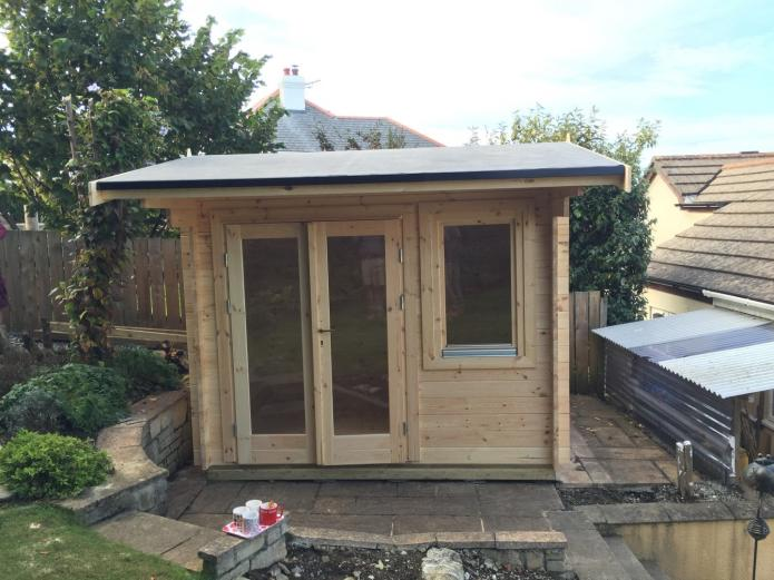 Bespoke 34mm summerhouse, Wadebridge, Cornwall