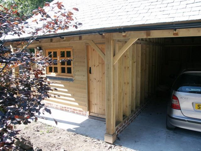 Timber frame, self build kits   North Coast Log Cabins - Cornwall ...