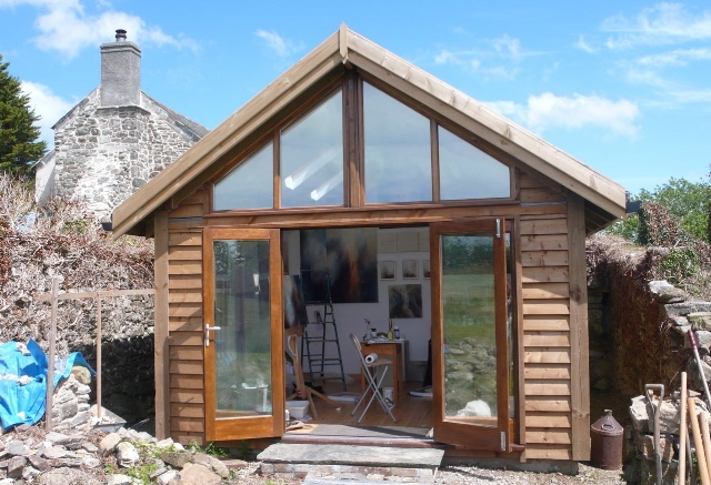 Timber frame, self build kits | North Coast Log Cabins - Cornwall ...