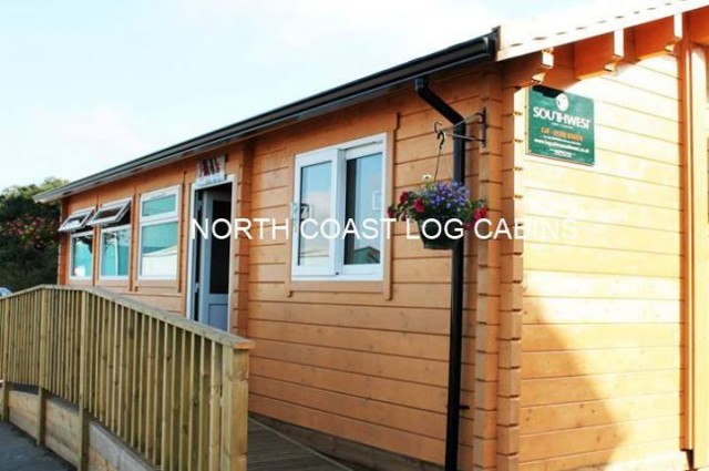 The Crib Box Cafe Padstow Cornwall North Coast Log Cabins