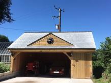 Clockhouse style carport