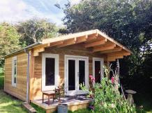 Log cabin garden room
