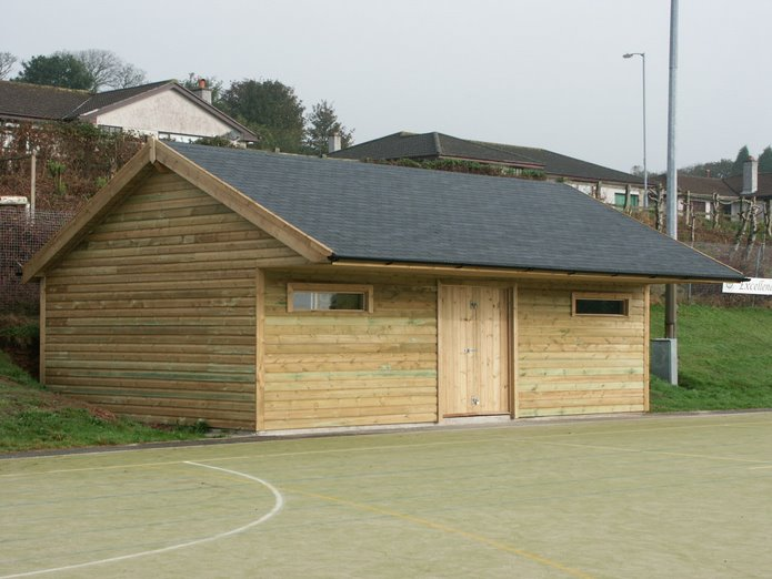 Sports Building, Poltair School, St Austell, Cornwall